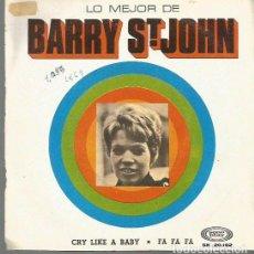 Disques de vinyle: BARRY ST, JOHNN SINGLE SELLO SONOPLAY AÑO 1969 EDITADO EN ESPAÑA . Lote 65046343