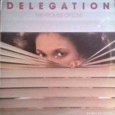 Discos de vinilo: DELEGATION, THE PROMISE OF LOVE, STATE RECORDS-ETAT 14. Lote 65047895