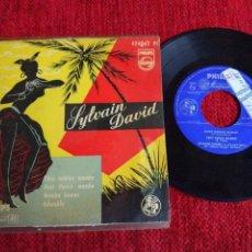 Discos de vinilo: SYLVAIN DAVID EP ELLOS HABLAN MAMBO. Lote 133564665