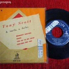 Discos de vinilo: TONY SCOTT EP ,MIDNIGHT CHACHACHÁ. Lote 65120771