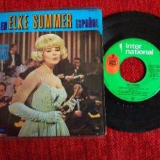 Discos de vinilo: ELKE SOMMER CANTA EN ESPAÑOL AHORA NO + 3TEMAS. Lote 65129259