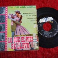 Discos de vinilo: CYRILL ORNADEL BANDA SONORA LO QUE EL VIENTO SE LLEVÓ 5 TEMAS EDICIÓN ESPAÑOLA. Lote 65132303