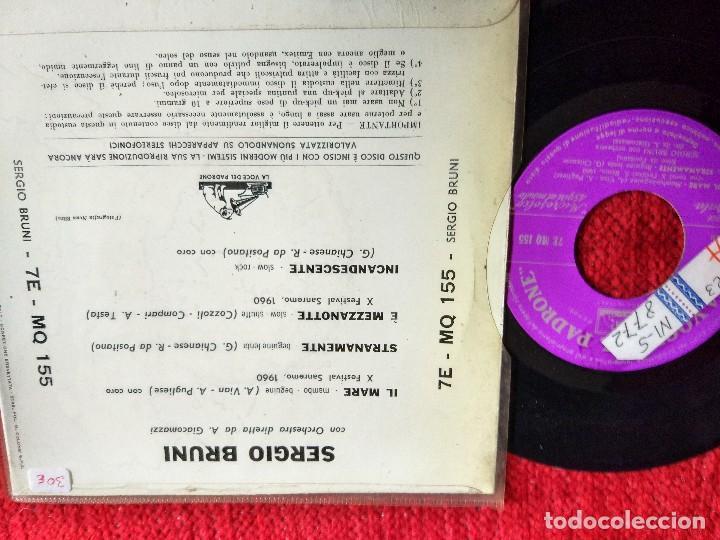 Discos de vinilo: SERGIO BRUNI il mare EP - Foto 2 - 65133755