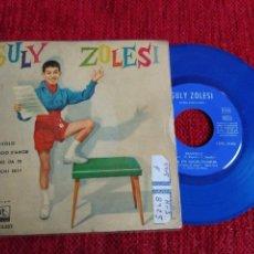 Discos de vinilo: GULY ZOLESI CON LATIN COMBO EP DIAVOLO EDICIÓN VINILO AZUL. Lote 65135639
