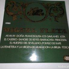 Discos de vinilo: MIGUEL FLETA - TOSCA LA BRUJA - DOÑA FRANCISQUITA ETC - 1971 ZAFIRO. Lote 65202579