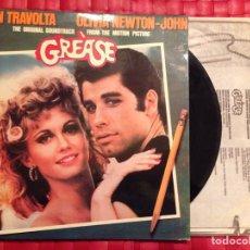 Discos de vinilo: LP/VINILO GREASE, JOHN TRAVOLTA - OLIVIA NEWTON-JOHN. Lote 65256959