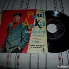 Discos de vinilo: PAUL ANKA LONELY BOY. Lote 65324383