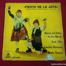 Discos de vinilo: FIESTA DE LA JOTA. Lote 65371967