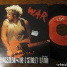 Discos de vinilo: BRUCE SPRINGSTEEN `WAR`. Lote 65165335