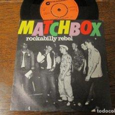 Discos de vinilo: MATCHBOX `ROCKABILLY REBEL`. Lote 65023259