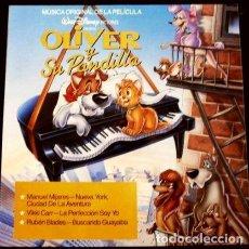 Discos de vinilo: OLIVER Y SU PANDILLA (LP 1989 NUEVO) - BSO - MUSICA ORIGINAL DE LA PELICULA - WALT DISNEY - CBS. Lote 117792540