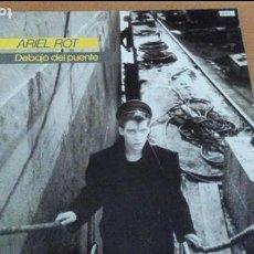 Discos de vinilo: ARIEL ROT DEBAJO DEL PUENTE LP CON INSERTO 1984. Lote 65430179