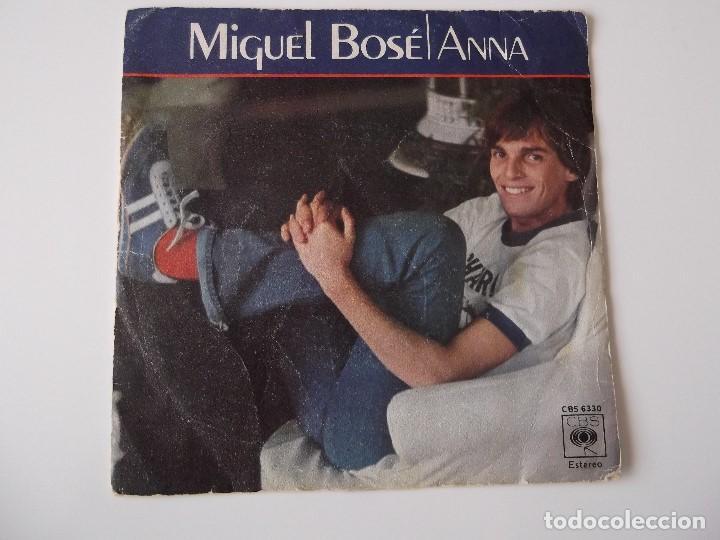 MIGUEL BOSE - ANNA (Música - Discos - Singles Vinilo - Solistas Españoles de los 70 a la actualidad)