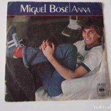 Discos de vinilo: MIGUEL BOSE - ANNA. Lote 65431323