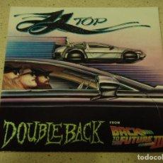 Discos de vinilo: ZZ TOP ( DOUBLEBACK - PLANET OF WOMEN ) 1990-GERMANY SINGLE45 WARNER BROS RECORDS. Lote 65437595