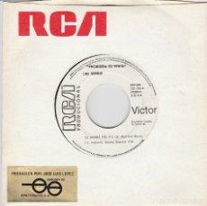 Discos de vinilo: LINA MORGAN / LA RUMBA DEL X-2 / SE DICE DE MI (SINGLE PROMO 1981). Lote 65441950
