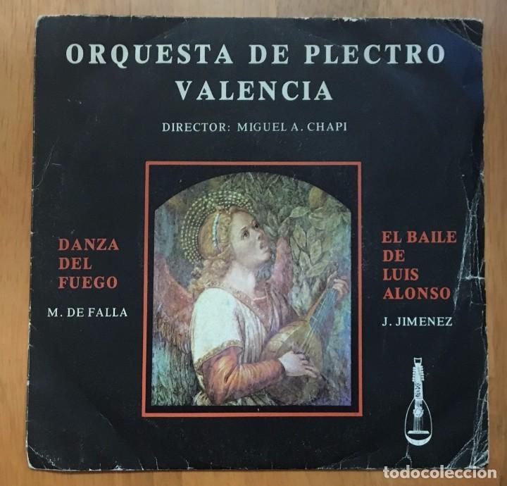 ORQUESTA DE PLECTRO VALENCIA - MIGUEL A. CHAPI - 1979 (Música - Discos - Singles Vinilo - Otros estilos)