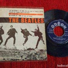 Discos de vinilo: THE BEATLES SHE LOVES YOU EP ETIQUETA AZUL. Lote 65524790