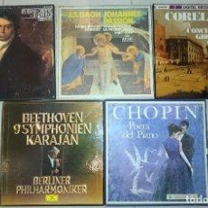 Discos de vinilo: GRANDES COMPOSITORES Y GENIOS DE LA MUSICA. Lote 65567370