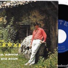 Dischi in vinile: XABIER MADINA: AINHOA, AINHOA / AGUR ETA AGUR. Lote 65570306