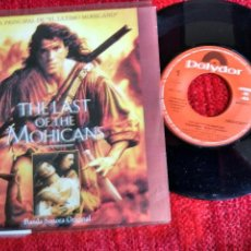 Discos de vinilo: THE LAST OF OF THE MOHICANS BANDA SONORA EL ÚLTIMO MOHICANO EDICIÓN PROMOCIONAL ESPAÑOLA. Lote 65515410
