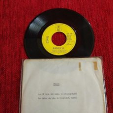 Discos de vinilo: O'JAYS EL TREN DEL AMOR+ QUIÉN SOY. Lote 65573350