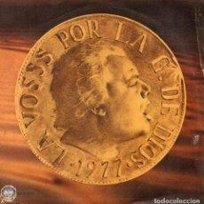 Discos de vinilo: LA VOSSS DEL TROPICO, SG, LA CARN FA CARN + 1, AÑO 1978. Lote 65682610