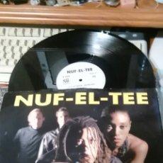 Discos de vinilo: NUF-EL-TEE MAXI LET'S GO DEEPER.1993. Lote 65687950