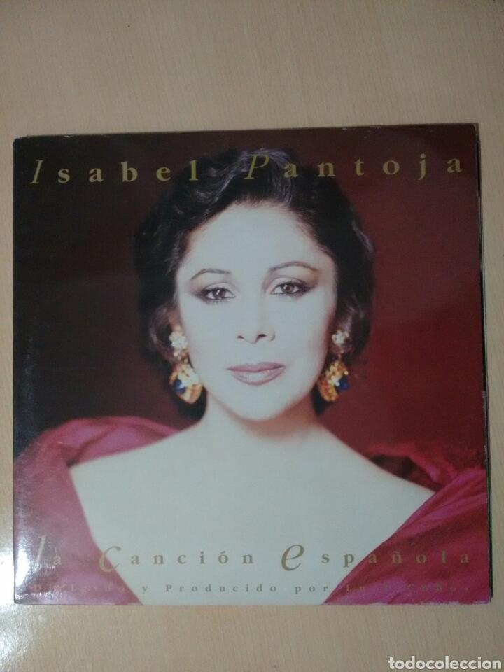 ISABEL PANTOJA LA CANCIÓN ESPAÑOLA LP (1990) (Música - Discos - LP Vinilo - Flamenco, Canción española y Cuplé)