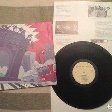 Discos de vinilo: ROCK 'N MONCLOA; LA BANDA DEL OTRO LADO, MANDALA, GUAQUI TANEKE, DESACATO DADA, EL REFUGIO - LP. Lote 65693730
