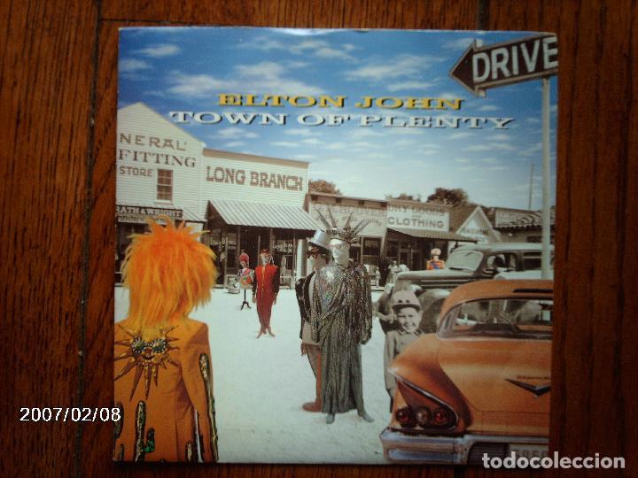 ELTON JOHN - TWON OF PLENTY + WHIPPING BOY (Música - Discos de Vinilo - Singles - Pop - Rock Extranjero de los 80)