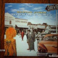 Discos de vinilo: ELTON JOHN - TWON OF PLENTY + WHIPPING BOY . Lote 65739466