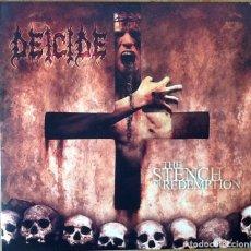 Discos de vinilo: DEICIDE : THE STENCH OF REDEMPTION [USA 2006] LP/1ST EDITION. Lote 65779350