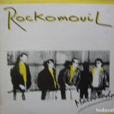 Discos de vinilo: ROCKOMOVIL. MACHACADO. SNIF SS-21.006 MAXI 1987 SPAIN. Lote 65782638