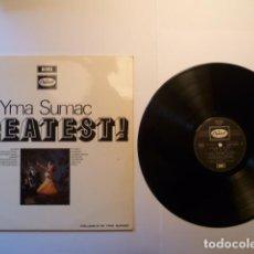 Discos de vinilo: YMA SUMAC # GREATEST LP1975 EMI CAPITOL D2 C 054-80293 EDICION FRANCESA . Lote 147213564