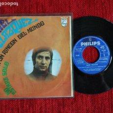 Discos de vinilo: DANIEL VELAZQUEZ SINGLE EN UN RINCÓN DEL MUNDO + NO ESTARÉ SOLO 20 LAURA LOTE DE 3 SINGLES FESTIVAL . Lote 65768434