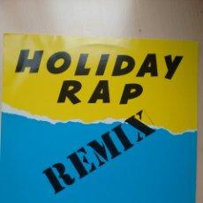 MIKER 'G' & DEEJAY SVEN HOLIDAY RAP (REMIX) MAXI SINGLE (1991)