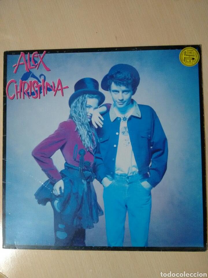 """ALEX Y CHRISTINA """"ALEX Y CHRISTINA"""" LP (1988) (Música - Discos - LP Vinilo - Grupos Españoles de los 70 y 80)"""
