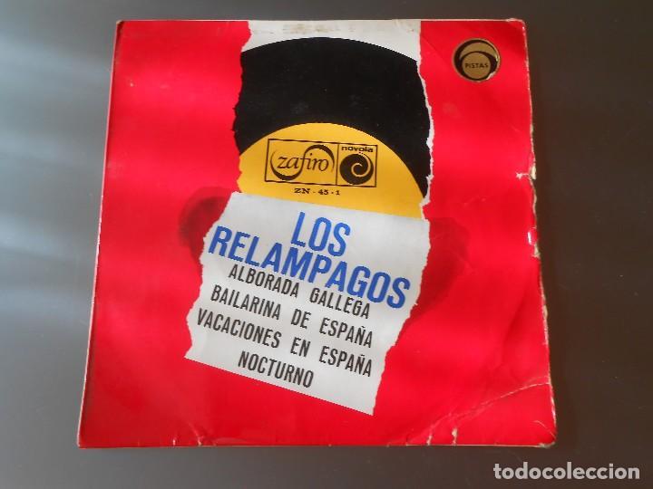 LOS RELAMPAGOS (Música - Discos - Singles Vinilo - Grupos Españoles de los 70 y 80)