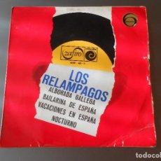 Discos de vinilo: LOS RELAMPAGOS. Lote 65823146