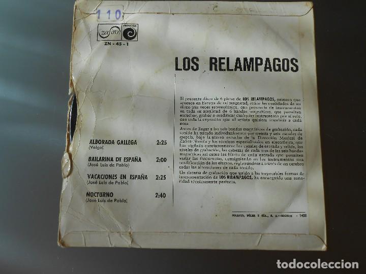 Discos de vinilo: LOS RELAMPAGOS - Foto 2 - 65823146