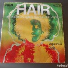 Discos de vinilo: AQUARIUS HAIR. Lote 65823294