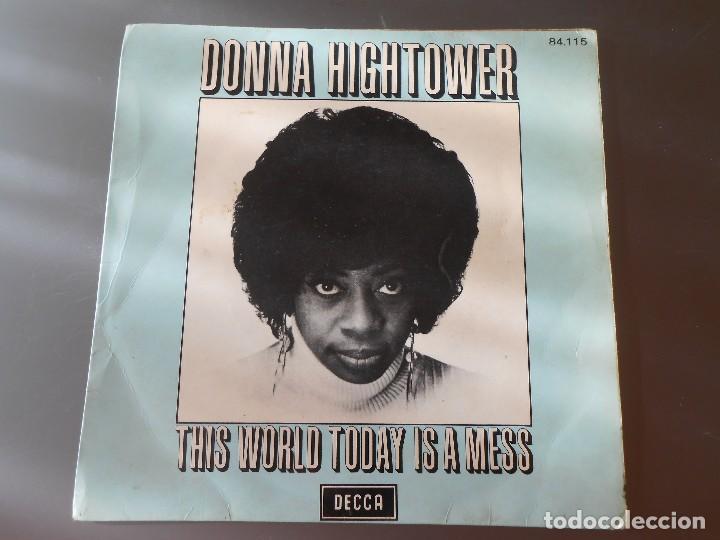 DONNA HIGHTOWER (Música - Discos - Singles Vinilo - Grupos Españoles de los 70 y 80)