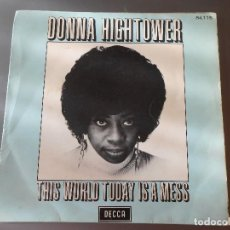 Discos de vinilo: DONNA HIGHTOWER. Lote 65823770