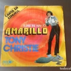 Discos de vinilo: TONY CHRISTIE AMARILLO. Lote 65825142