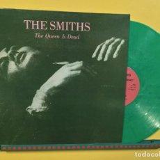 Discos de vinilo: THE SMITHS LP THE QUEEN IS DEAD VINILO COLOR VERDE REEDICION MUY RARA COLECCIONISTA. Lote 221874480