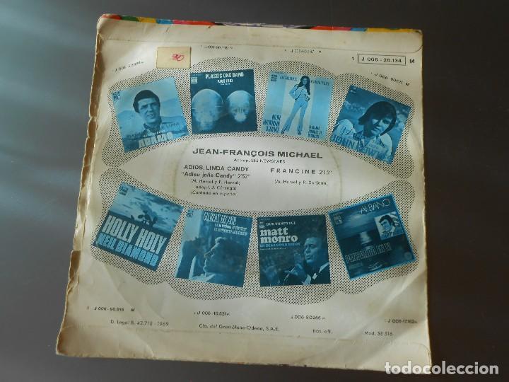 Discos de vinilo: JEAN-FRANCOIS MICHAEL ADIOS LINDA CANDY - Foto 2 - 65825602