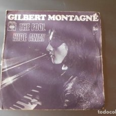 Discos de vinilo: GILBERT MONTAGNE--THE FOOL. Lote 65826094