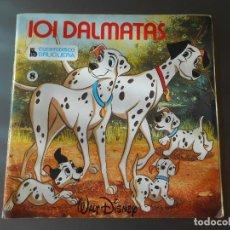 Discos de vinilo: 101 DALMATAS LIBRO DISCO. Lote 65827078