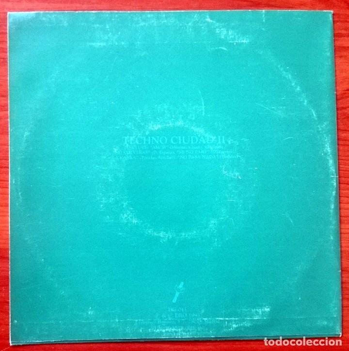Discos de vinilo: VVAA: Techno Ciudad 2 Mix, Single DRO DG-043, Spain, 1993. NM/VG+. Ray, ASAP, Farmlopez, Santuario - Foto 4 - 65843326